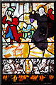 TG0704 : Continental stained glass in Kimberley St Peter by Evelyn Simak
