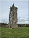 SX4268 : Cotehele Prospect Tower by David Smith