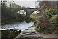 SD7903 : The River Irwell passes under the Clifton Viaduct by Ian Greig