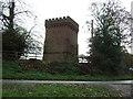SJ4461 : Saighton water tower by JThomas