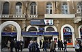 TQ3080 : Underground entrance, Charing Cross Station by N Chadwick