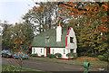 TQ1881 : Lodge at Ealing Village by Des Blenkinsopp