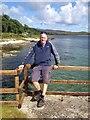 NR5370 : Jura jetty - on an OS Bolt location by Dave Thompson