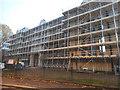 TQ1369 : Renovations at Hampton Waterworks by David Howard