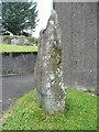 SN1928 : The Ogham stone, Glandwr by Humphrey Bolton