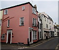 SX9372 : Pink corner in Teignmouth by Jaggery