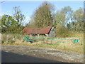 TL6236 : Old Barn And Gate by Keith Evans