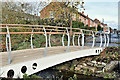 J3673 : New footbridge, Knock River, Belfast - November 2016(2) by Albert Bridge