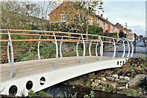 J3673 : New footbridge, Knock River, Belfast - November 2016(2) by Albert Bridge