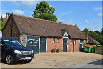 TQ5446 : Old stableblock, Fleur De Lis by N Chadwick
