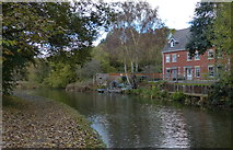SO9686 : House next to the Dudley No.2 Canal by Mat Fascione
