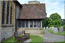 TQ5446 : Porch, Church of St Mary by N Chadwick