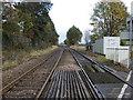 SJ6651 : Railway towards Crewe by JThomas