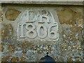 SK8524 : Datestone on Greengates Farmhouse by Alan Murray-Rust