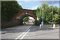 SU8953 : Ash Vale railway arch by Alan Hunt