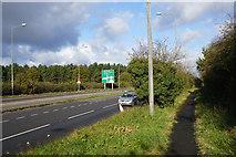SJ9108 : The A449 near Four Ashes by Bill Boaden