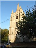 TF5617 : Tilney All Saints Parish Church: tower (with steeple) by Basher Eyre