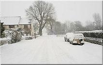 ST8180 : Littleton Drew Lane, Acton Turville, Gloucestershire 2013 by Ray Bird