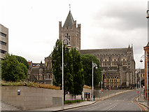O1533 : Christ Church Cathedral (from Winetavern Street) by David Dixon