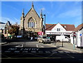 ST5393 : No Entry to Thomas Street and Albion Square, Chepstow by Jaggery