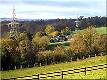 NZ1366 : Heddon Low Farm from Station Road by Andrew Curtis