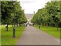 O1333 : Royal Hospital Kilmainham, Irish Museum of Modern Art by David Dixon