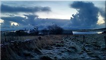 HP6208 : Grey and frosty November dawn, Baltasound by Mike Pennington