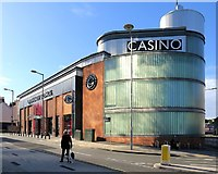 SK5804 : Grosvenor Casino, High Cross Street, Leicester by Andrew Curtis