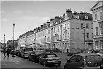 ST7565 : Terraced houses on Great Pulteney Street, Bath by John Winder