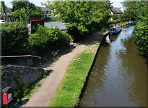 SJ9214 : The Staffordshire and Worcestershire Canal at Penkridge by Mat Fascione