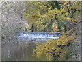 TQ7049 : Weir on the River Beult near Yalding by Ron Lee