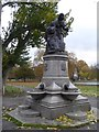 TQ2975 : Drinking water fountain, Clapham Common by David Smith