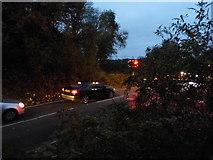 TQ2151 : Waiting at the level crossing, Betchworth by David Howard