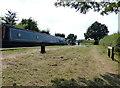SJ9210 : Narrowboat at Brick Kiln Lock No 33 by Mat Fascione