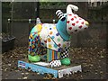 NZ2666 : Great North Snowdog Decisions, Decisions, Decisions, Pets Corner, Jesmond Dene by Graham Robson