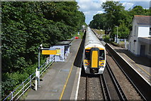 TR2548 : Shepherdswell Station by N Chadwick