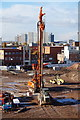 TA0928 : Piling Rig at the Venue, Hull by Ian S