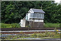 TR2548 : Shepherdswell Signalbox by N Chadwick