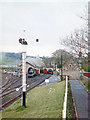 NZ2154 : 'Beamish Hall' station and depot, recreated in Beamish Open-Air Museum, 1985 by Walter Dendy, deceased