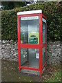 NY5423 : Former telephone box, Hackthorpe by JThomas