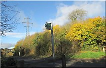 SX9066 : End of the bridleway, Browns Bridge Road by Derek Harper