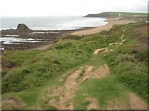 SS1901 : View to Widemouth Sand by Philip Halling