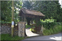 TR2647 : Lych gate, Church of St Andrew by N Chadwick