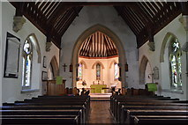 TR2647 : Church of St Andrew - interior by N Chadwick