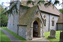 TR2647 : Church of St Andrew - porch by N Chadwick