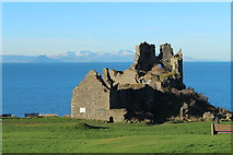 NS2515 : Castle, Dunure by Billy McCrorie