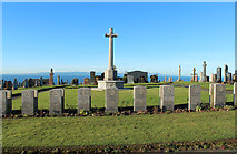 NS2515 : World War II Graves, Dunure by Billy McCrorie