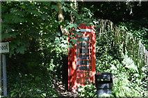 TQ5045 : Telephone Kiosk by N Chadwick