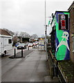 ST7082 : Ghostly depiction of the side of a Station Road tattoo parlour, Yate by Jaggery