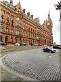 TQ3082 : St Pancras Station forecourt by Richard Sutcliffe